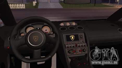 Lamborghini Gallardo LP560-4 Coupe 2013 V1.0 pour GTA San Andreas vue de côté