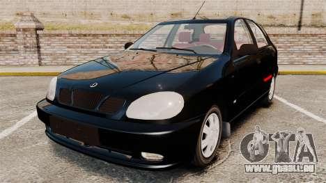 FSO Lanos Plus 2007 Limited Version pour GTA 4