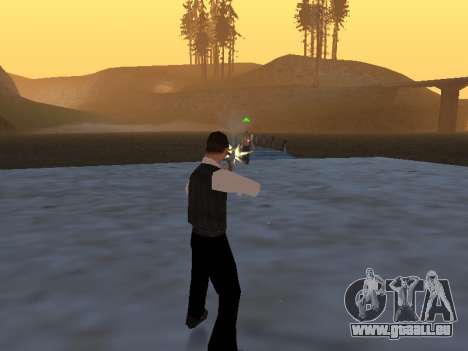 Un mythe à propos du pêcheur pour GTA San Andreas troisième écran