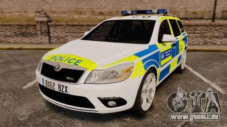Skoda Octavia Scout RS Metropolitan Police [ELS] für GTA 4