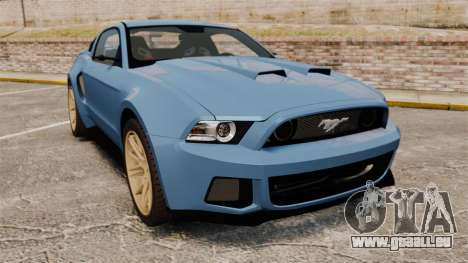 Ford Mustang GT 2013 Widebody NFS Edition pour GTA 4