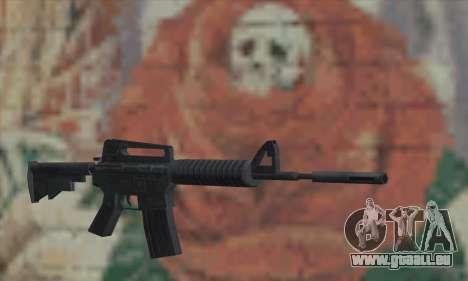 M4A1 de Saints Row 2 pour GTA San Andreas