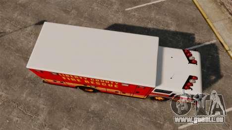 Hazmat Truck LCFR [ELS] pour GTA 4 est un droit