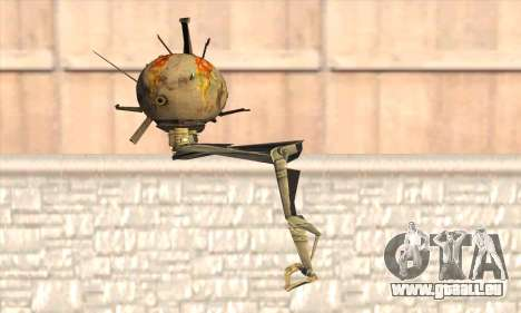 Robo Fallout 3 pour GTA San Andreas deuxième écran