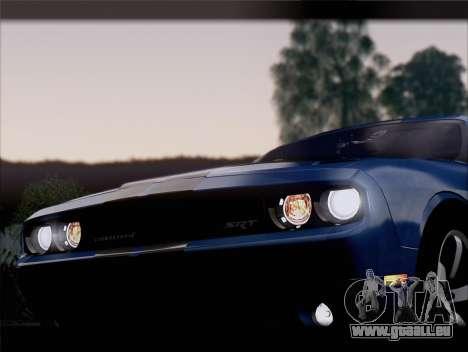 Dodge Challenger SRT8 2012 HEMI für GTA San Andreas Motor