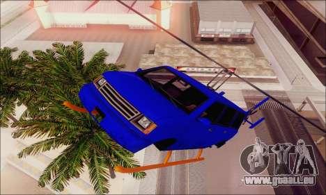 Fun Maverick pour GTA San Andreas vue intérieure