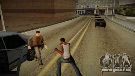 GTA HD Mod 3.0 für GTA San Andreas her Screenshot