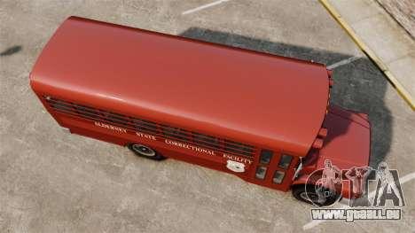 GTA IV TLAD Prison Bus pour GTA 4 est un droit