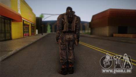 Un mercenaire de t. s. a. l. k. e. R pour GTA San Andreas deuxième écran