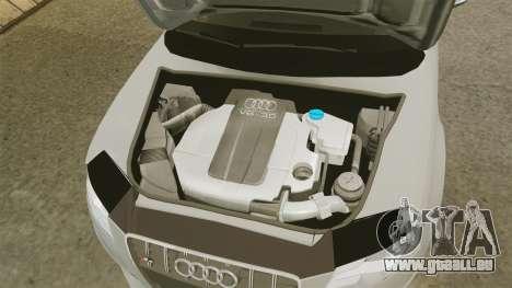 Audi S4 2010 pour GTA 4 est une vue de l'intérieur