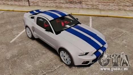 Ford Mustang GT 2013 Widebody NFS Edition für GTA 4 Innen