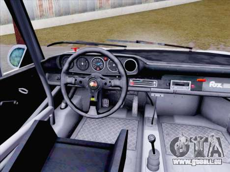 Porsche 911 RSR 3.3 skinpack 1 für GTA San Andreas Rückansicht