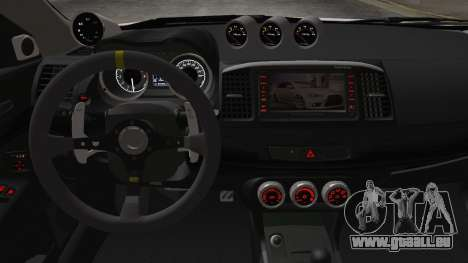 Mitsubishi Lancer X Evolution für GTA San Andreas rechten Ansicht