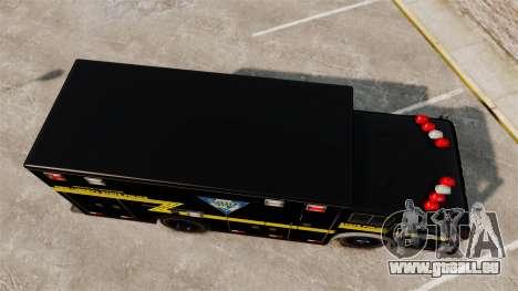 Hazmat Truck NLSP Emergency Operations [ELS] pour GTA 4 est un droit