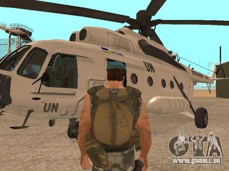 Formulaire pour CJ pour GTA San Andreas deuxième écran