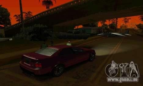Presidente de GTA IV pour GTA San Andreas vue arrière