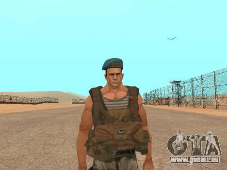 Formulaire pour CJ pour GTA San Andreas