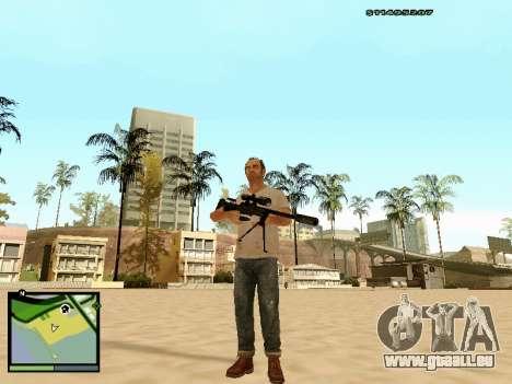 L115A3 Sniper Rifle für GTA San Andreas dritten Screenshot