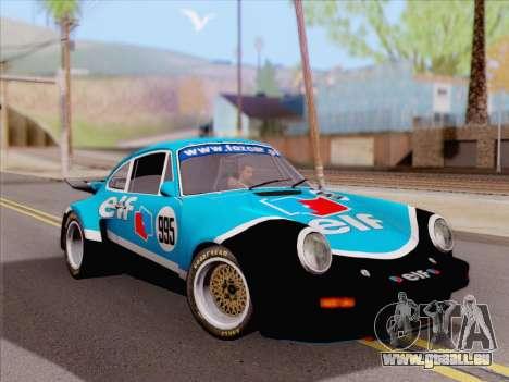 Porsche 911 RSR 3.3 skinpack 4 pour GTA San Andreas laissé vue