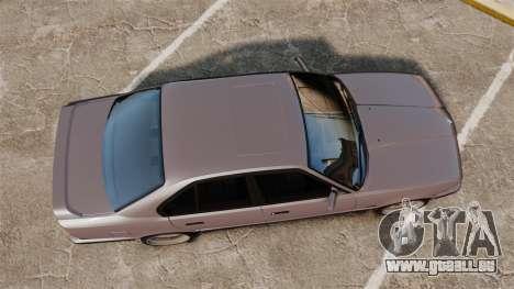 BMW M5 E34 pour GTA 4 est un droit