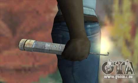 Un bâton de dynamite de la Metro 2033 pour GTA San Andreas troisième écran
