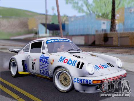 Porsche 911 RSR 3.3 skinpack 1 für GTA San Andreas