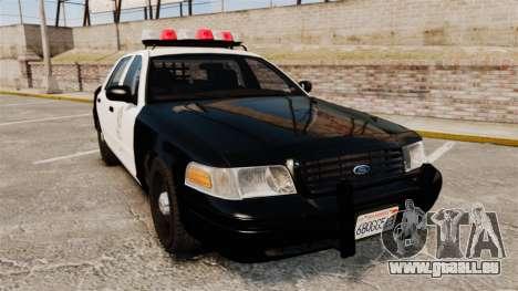 Ford Crown Victoria 1999 LAPD & GTA V LSPD pour GTA 4