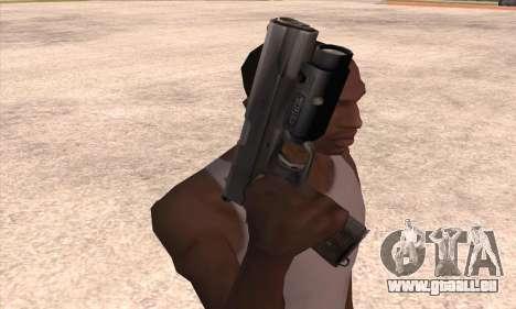 Le pistolet de Left 4 Dead 2 pour GTA San Andreas troisième écran