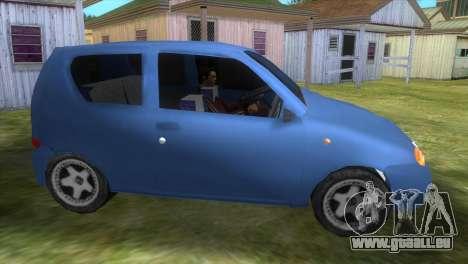 Fiat Seicento für GTA Vice City linke Ansicht