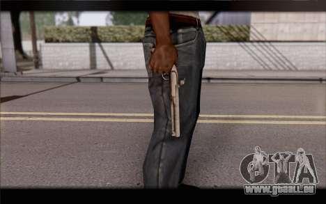 Pistolet silex pour GTA San Andreas troisième écran