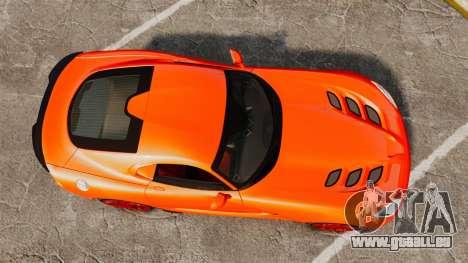 Dodge Viper SRT TA 2014 pour GTA 4 est un droit