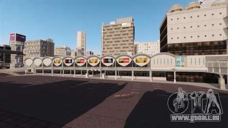 Lage von Shibuya für GTA 4 Sekunden Bildschirm