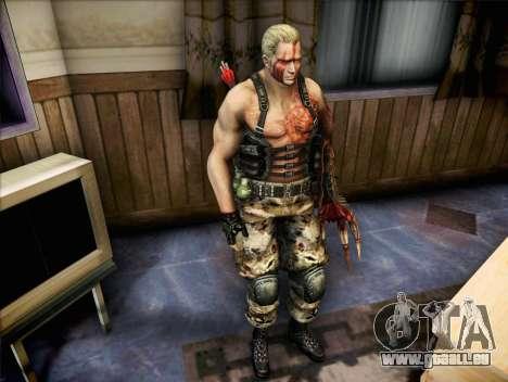 Jack Krauser pour GTA San Andreas deuxième écran