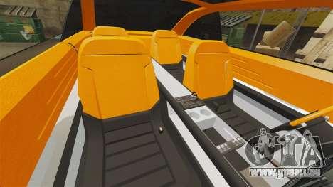 Ford Forty Nine Concept 2001 Police [ELS] pour GTA 4 vue de dessus