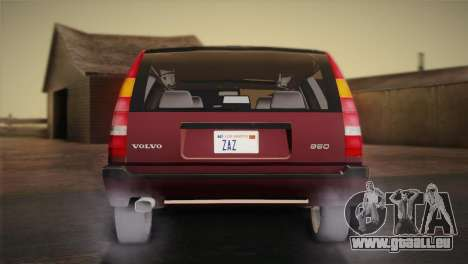 Volvo 850 Estate Turbo 1994 pour GTA San Andreas sur la vue arrière gauche