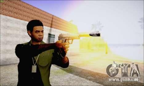 Lamar Davis GTA V pour GTA San Andreas cinquième écran