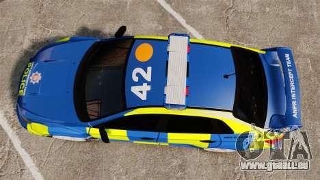 Subaru Impreza WRX STI 2011 Police [ELS] für GTA 4 rechte Ansicht