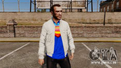 Superman collection für GTA 4 dritte Screenshot