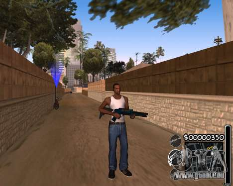 C-HUD by 6a6yuH pour GTA San Andreas