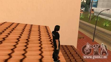 Hochwertige Haut Personal für GTA San Andreas fünften Screenshot