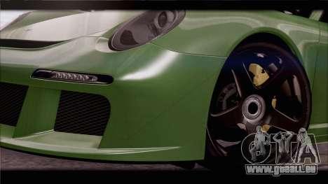 RUF RGT-8 pour GTA San Andreas moteur