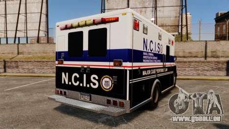 Brute NCIS [ELS] pour GTA 4 Vue arrière de la gauche