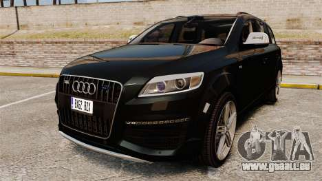 Audi Q7 Unmarked Police [ELS] pour GTA 4