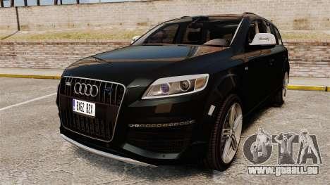 Audi Q7 Unmarked Police [ELS] pour GTA 4