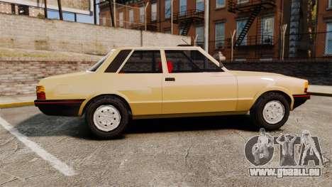 Ford Taunus GLS v2.0 für GTA 4 linke Ansicht