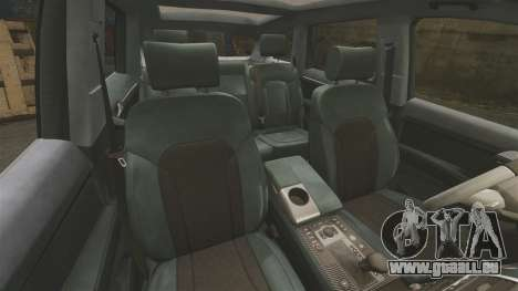 Audi Q7 Unmarked Police [ELS] pour GTA 4 est un côté