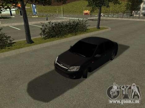 VAZ 2190 pour GTA San Andreas laissé vue