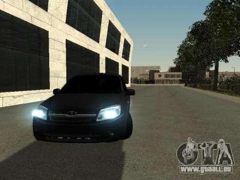 VAZ 2190 pour GTA San Andreas vue arrière