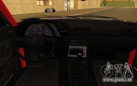 Nissan Skyline GTS Drift Spec für GTA San Andreas rechten Ansicht