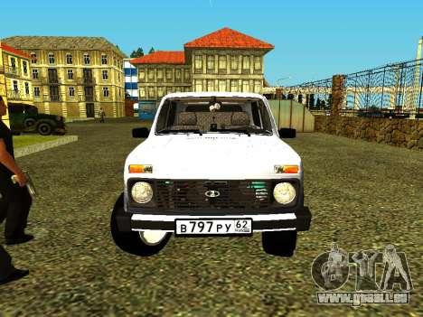 VAZ 21214 für GTA San Andreas rechten Ansicht
